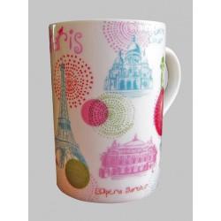 Mug Paris ronds