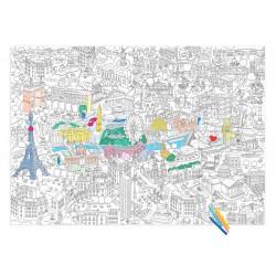 Coloriage Plan de Paris