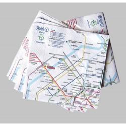 Serviettes en papier RATP