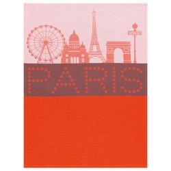 Torchon Paris Lumière rouge