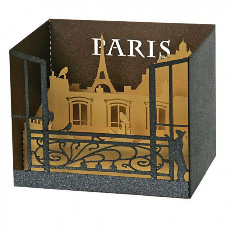 carte pop up toits de paris. Black Bedroom Furniture Sets. Home Design Ideas