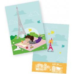 Carnet Pique Nique tour Eiffel