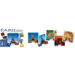 Memo Paris jeu de cartes
