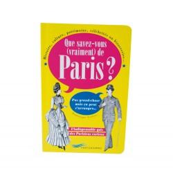 Que savez-vous de Paris ?